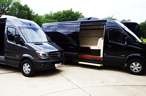 Mercedes Sprinter Vans Party like any bus Galveston, The Woodlands, Houston