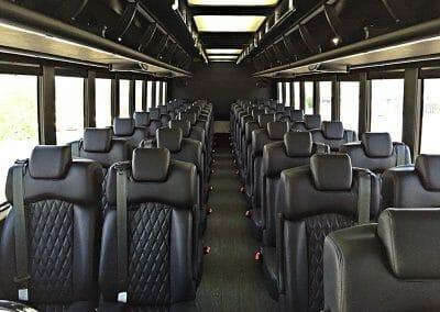 Coach Bus 44 Pass Interior